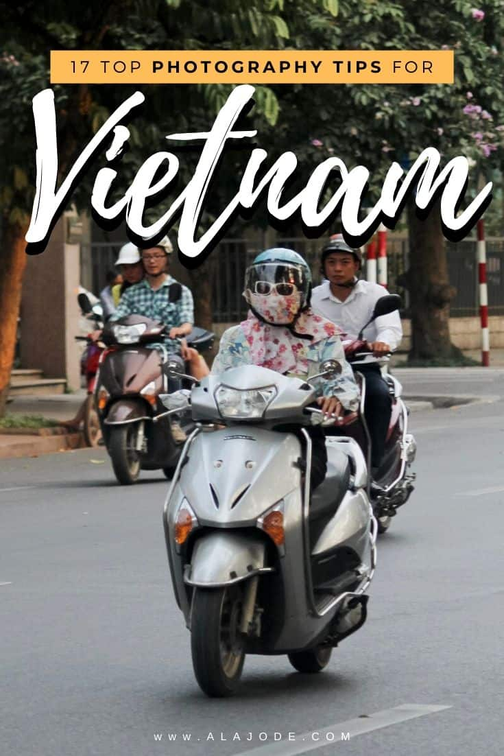 Travel photography tips for Vietnam