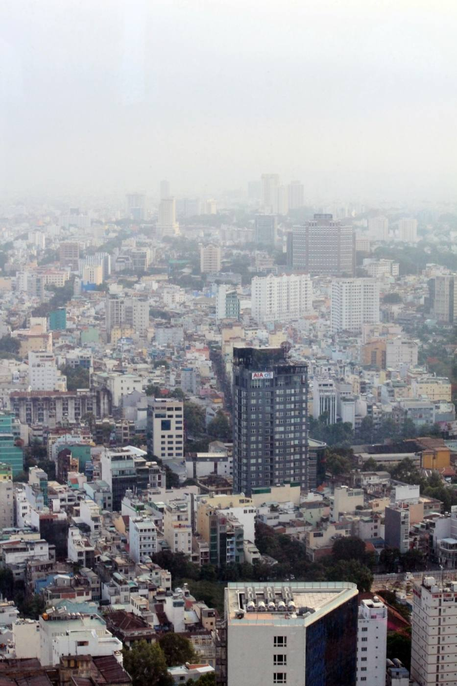 View from the Bitexco Tower Saigon