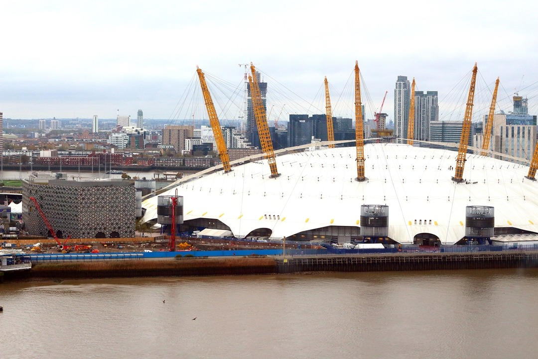 london emirates airline o2 arena