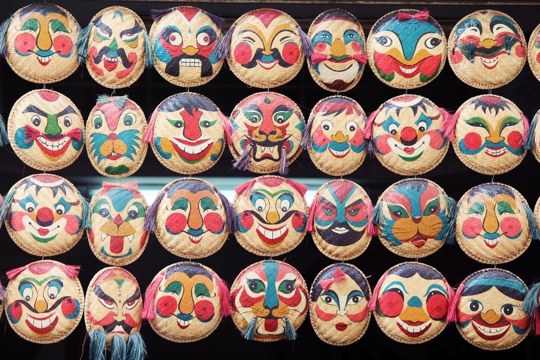 Hanoi Vietnam masks