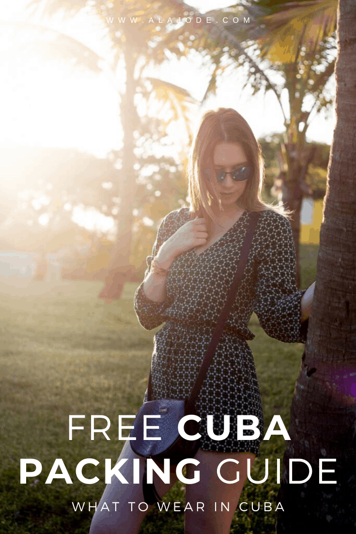 free cuba packing guide and what to wear in cuba
