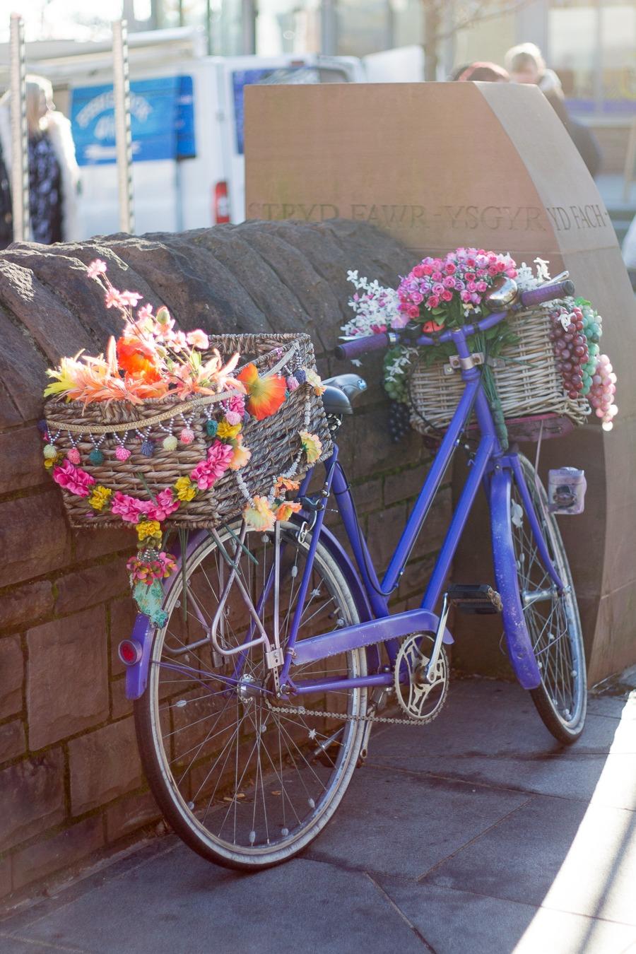 Abergavenny market bike