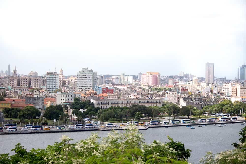 View of Old Havana in Cuba