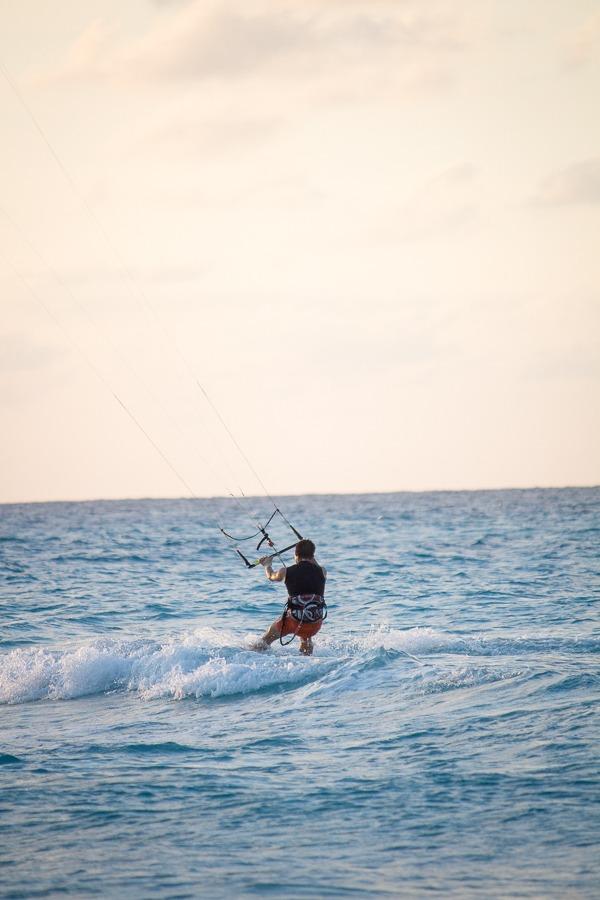 Windsurfing in Varadero, Cuba
