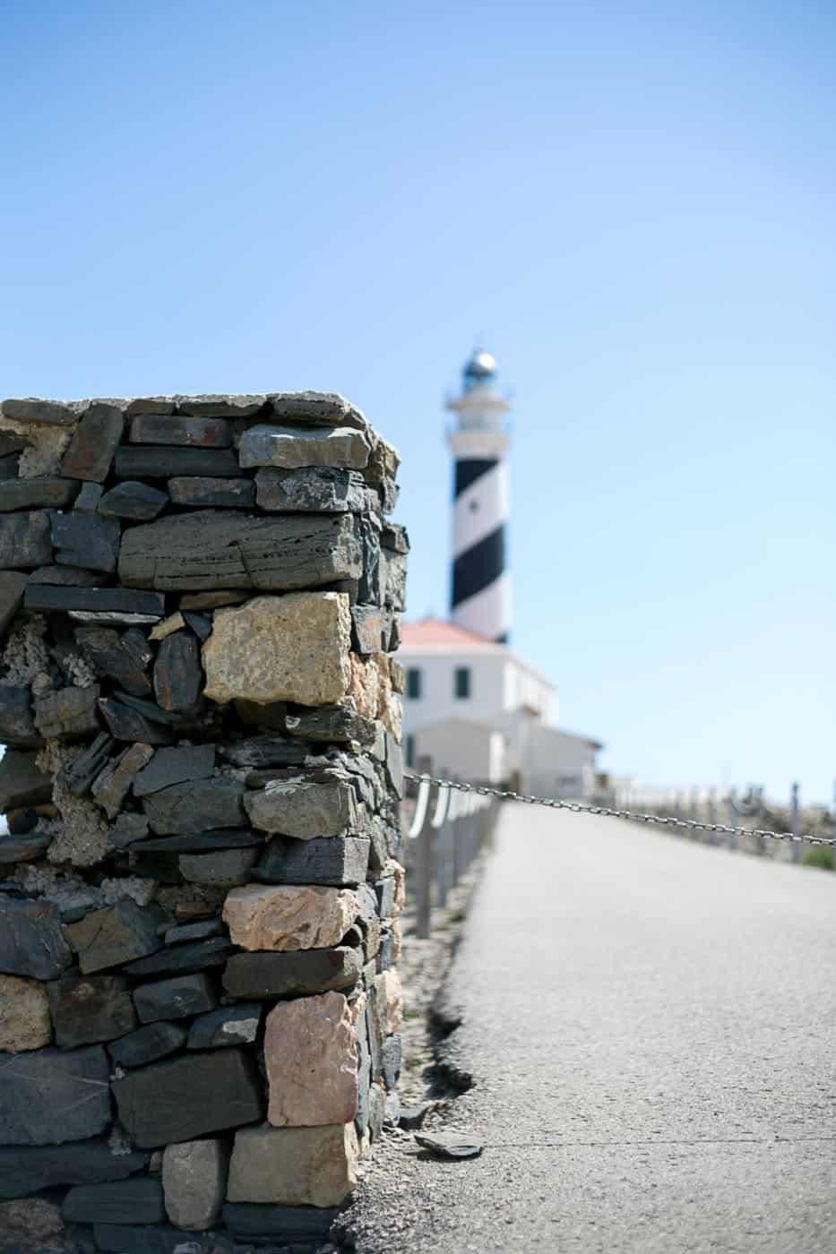 Favaritx lighthouse Menorca