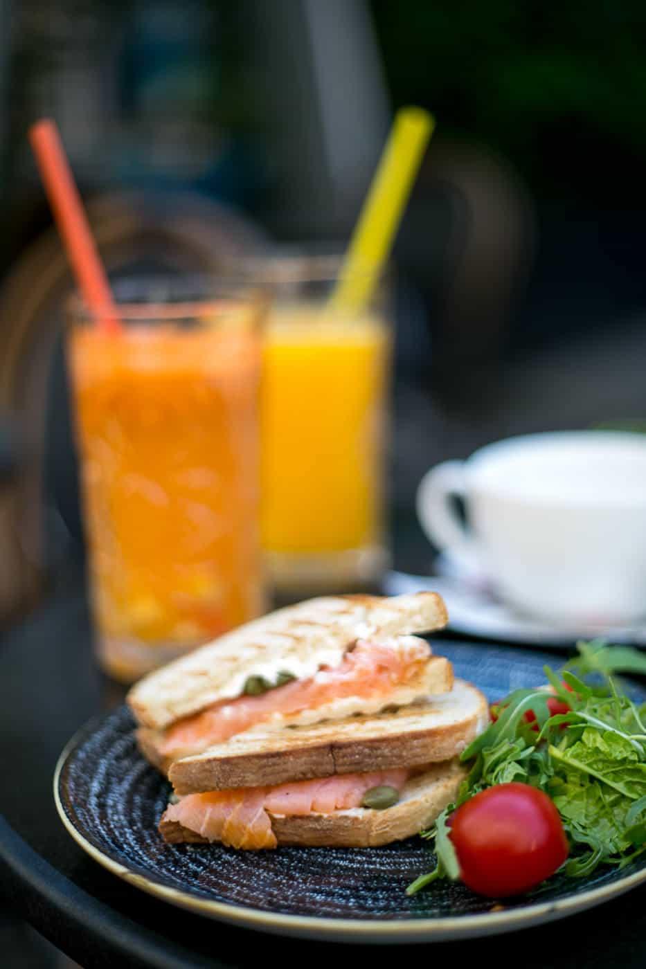 van gogh cafe breakfast in Bucharest Romania