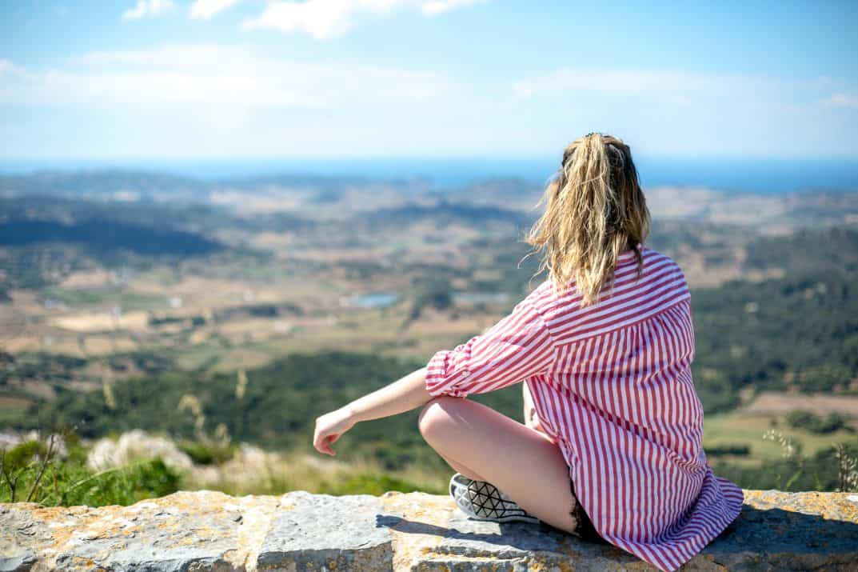 View at el toro in Menorca