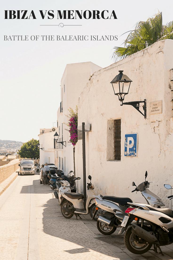 Ibiza vs Menorca