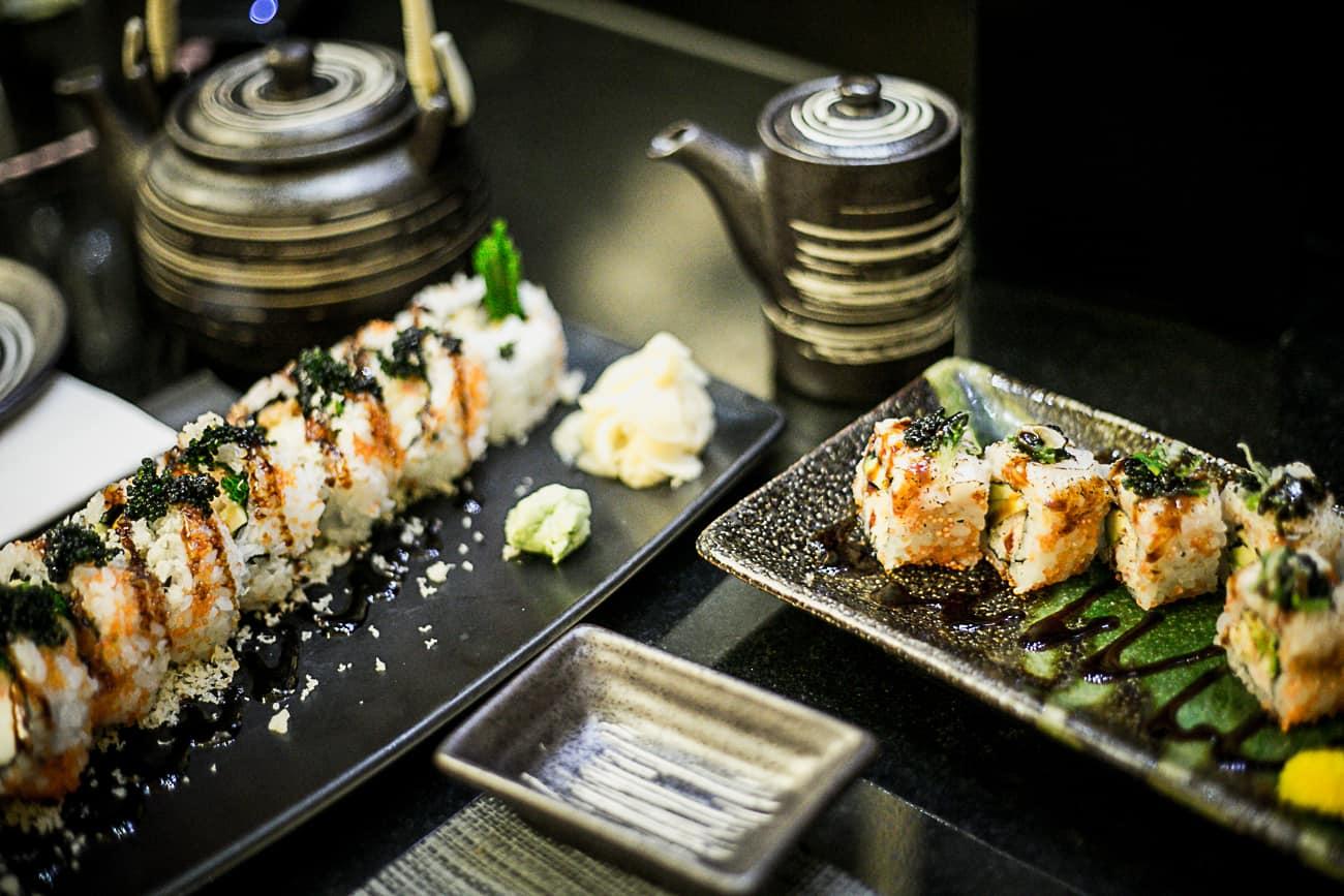 Pan Chai Harrords Japanese sushi and sashimi restaurant in London