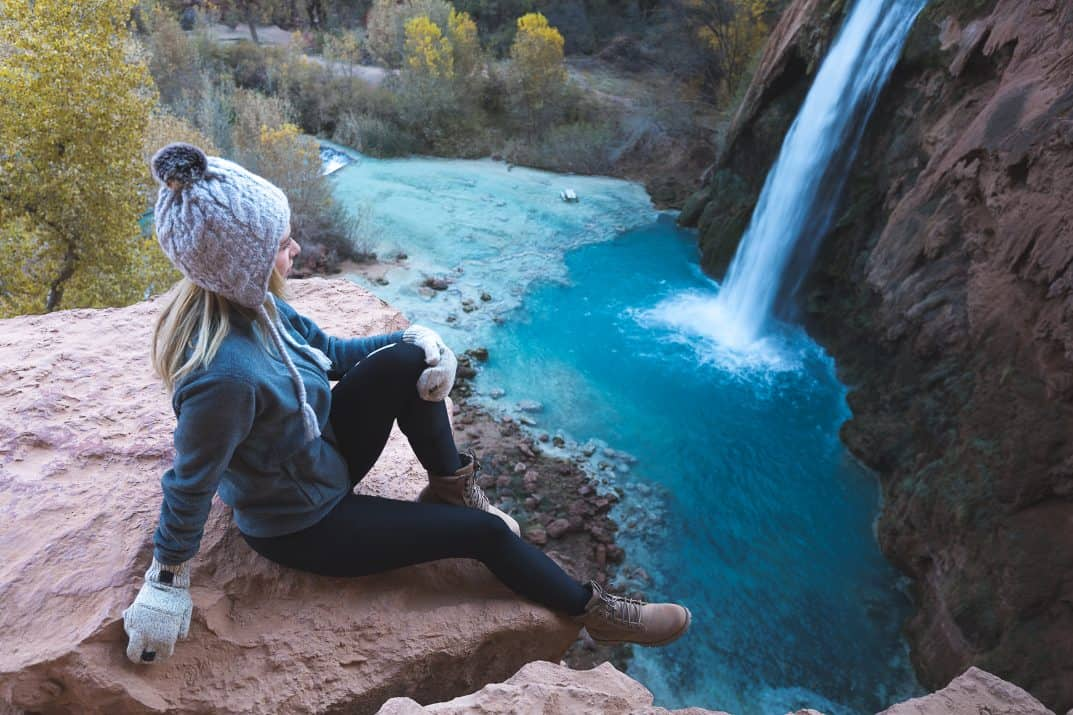 Havasupai Falls hike: Hiking to Havasu Falls Arizona