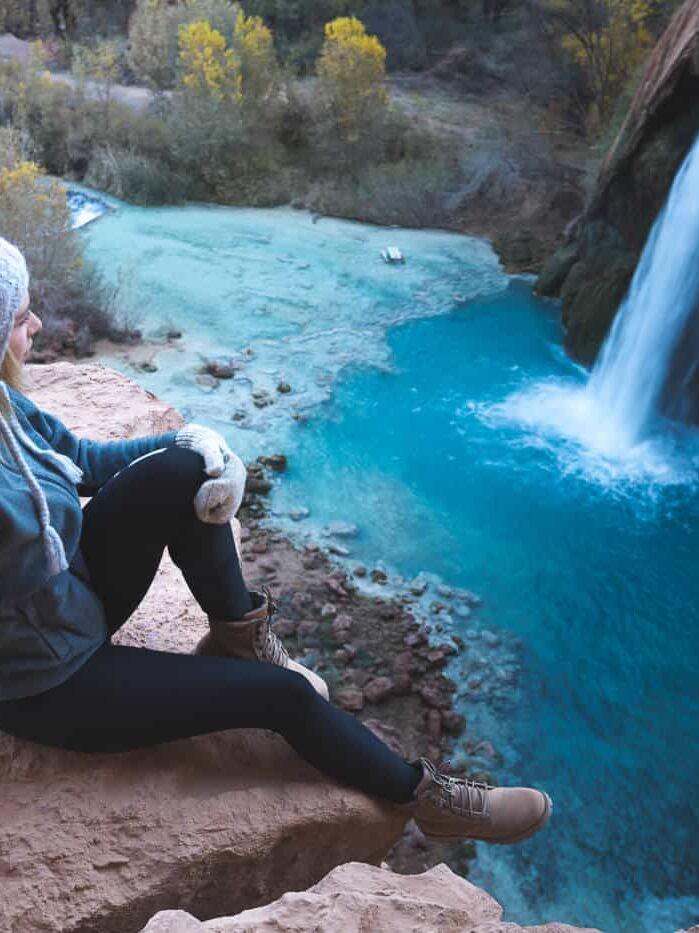 Havasupai Falls hike: Hiking to Havasu Falls Arizona