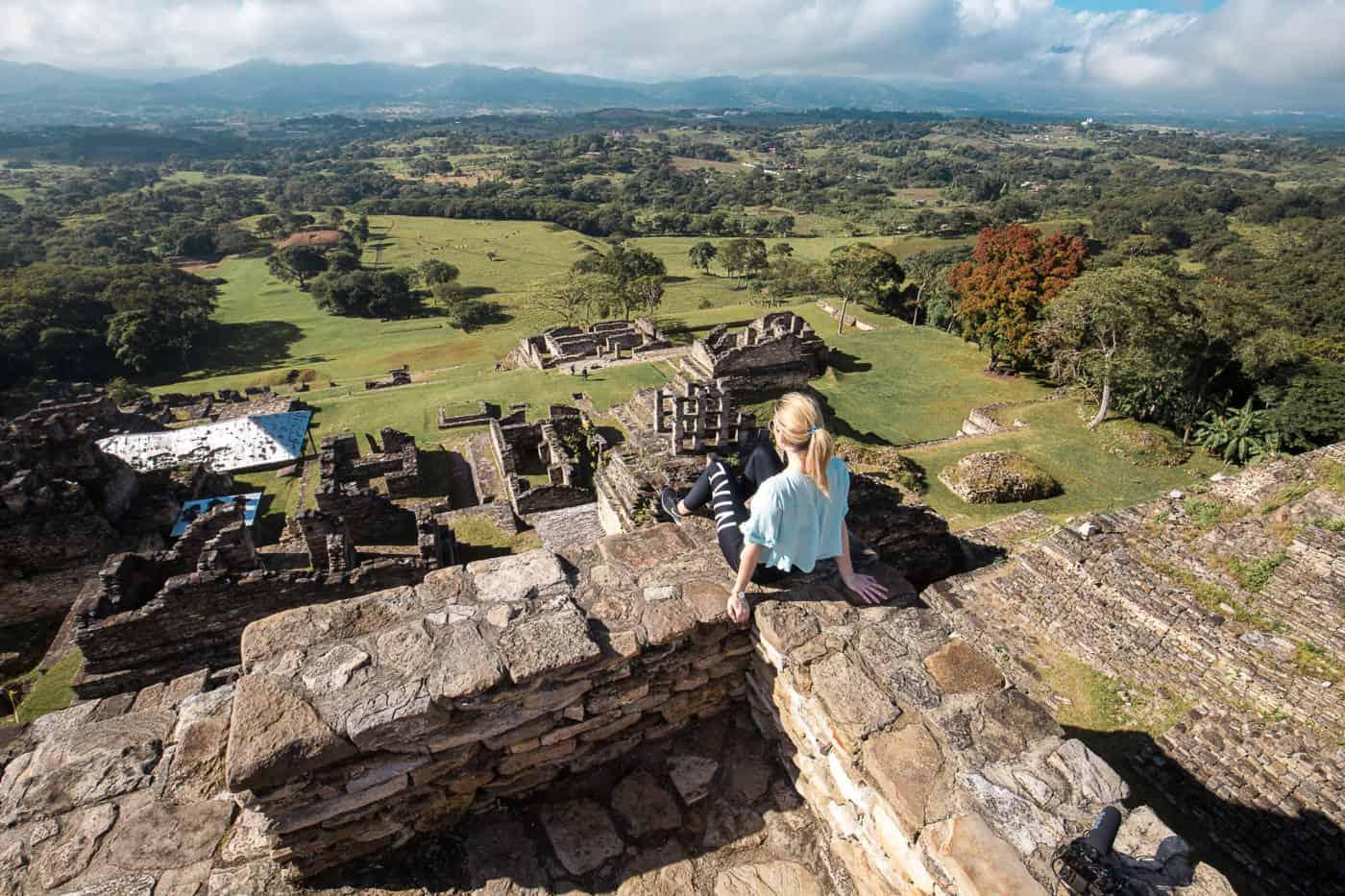 Tonina Mayan ruins in Chiapas, Mexico