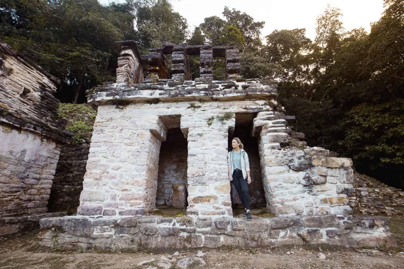 Bonampak Mayan ruins in Chiapas, Mexico