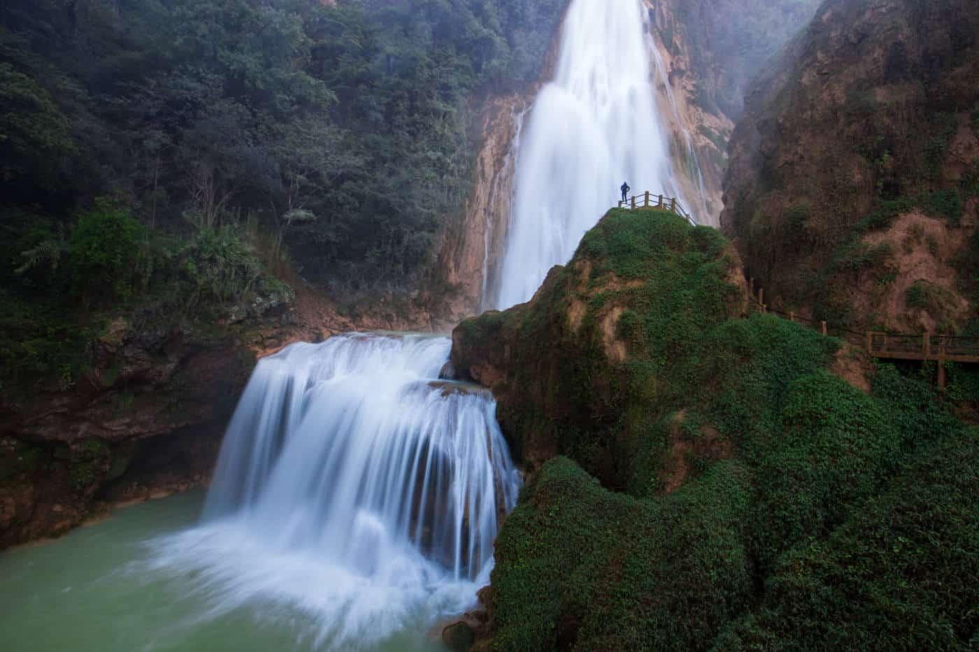 Chiapas Waterfalls El Chiflon