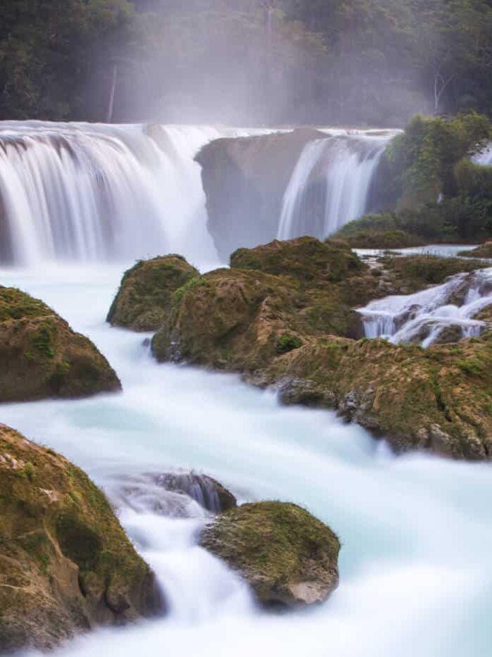 Chiapas Waterfalls Las Nubes