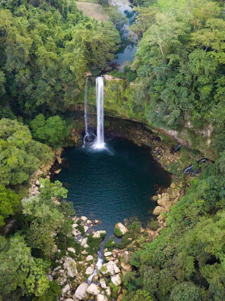 Chiapas Waterfalls Misol Ha