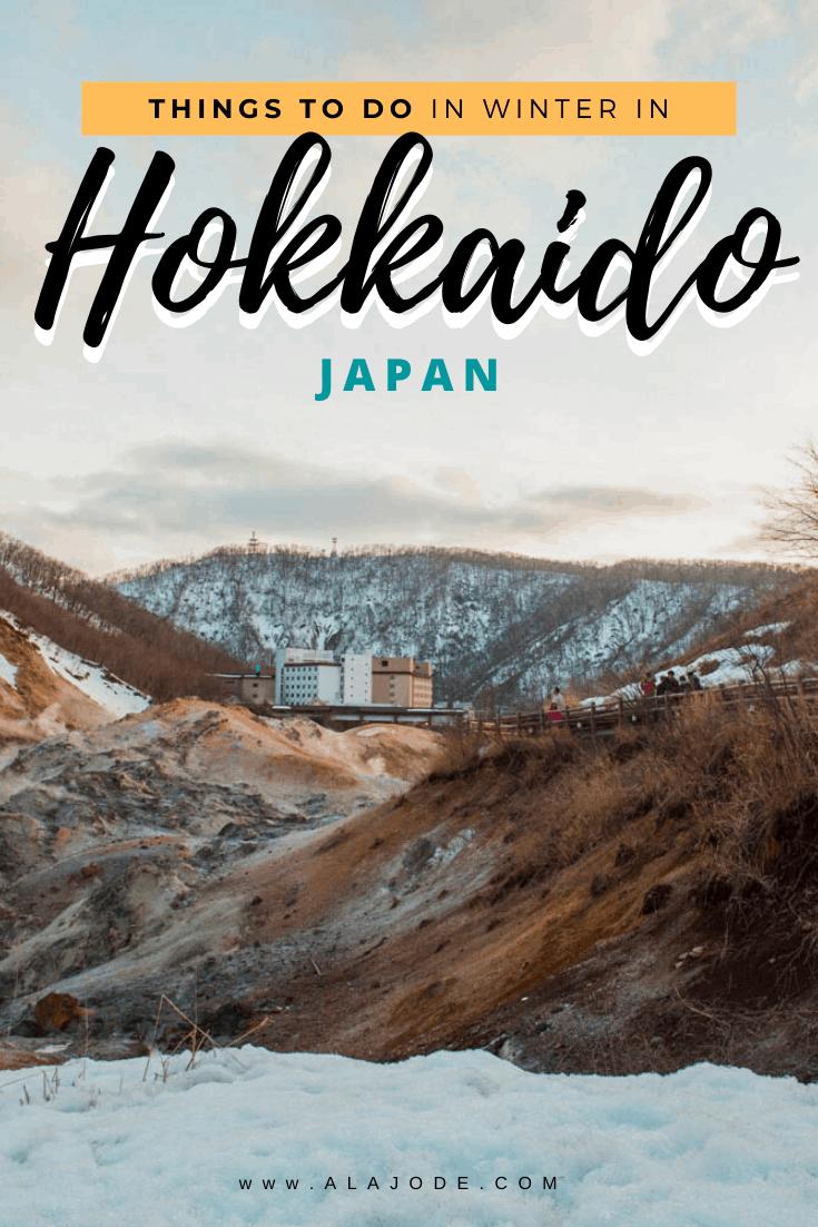 Things to do in winter in Hokkaido Japan