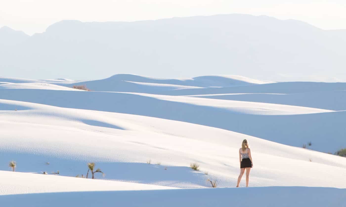 alajode travel blog white sands new mexico