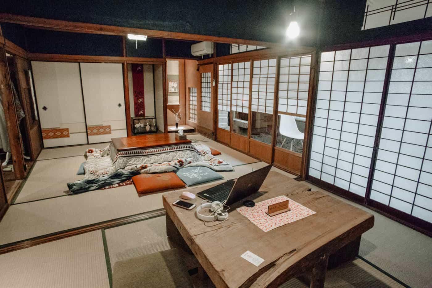 traditonal japanese house in kanazawa