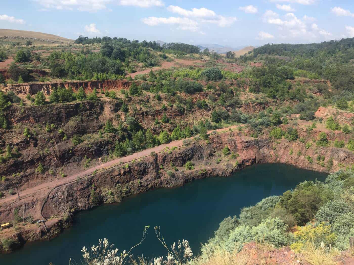 Ngwenya mine Swaziland