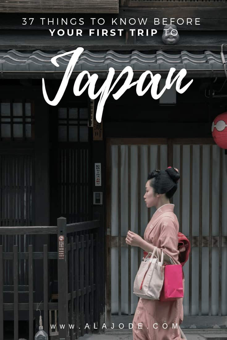 first time in japan