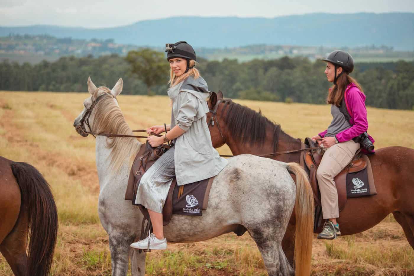 horseback safari at Milwane Wildlife Sanctuary Swaziland