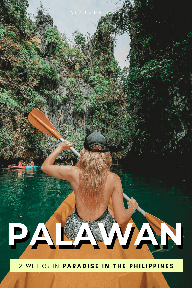 2 WEEKS IN PALAWAN PHILIPPINES ITINERARY