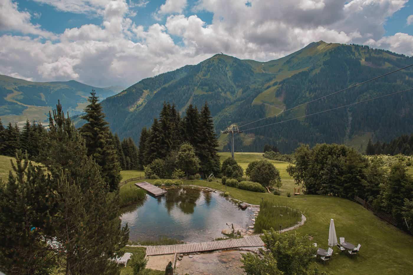 solo trip to Saalbach