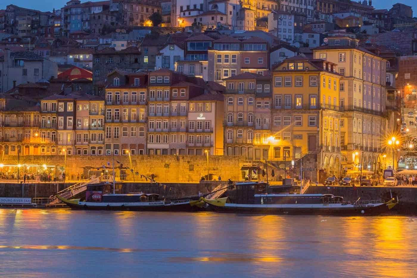 Boats in Porto Portugal