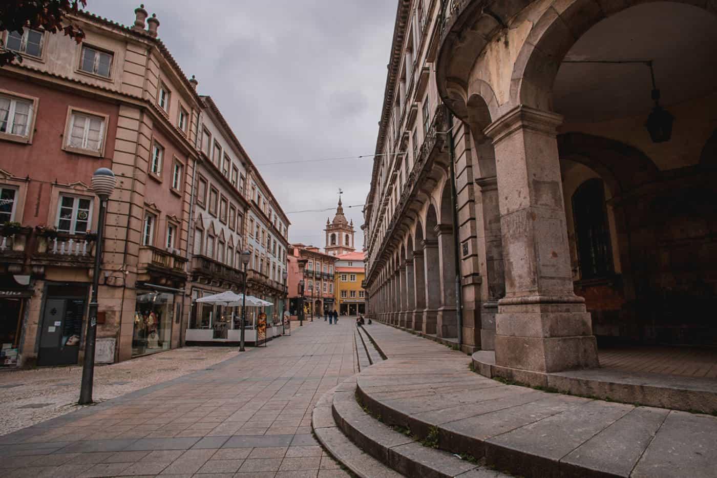 Braga town in Portugal - Porto to Braga road trip