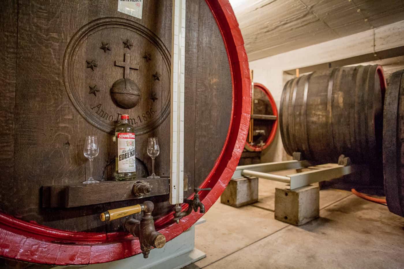 Dusseldorf gin tasting at Dusseldorf Schmittmann gin distillery