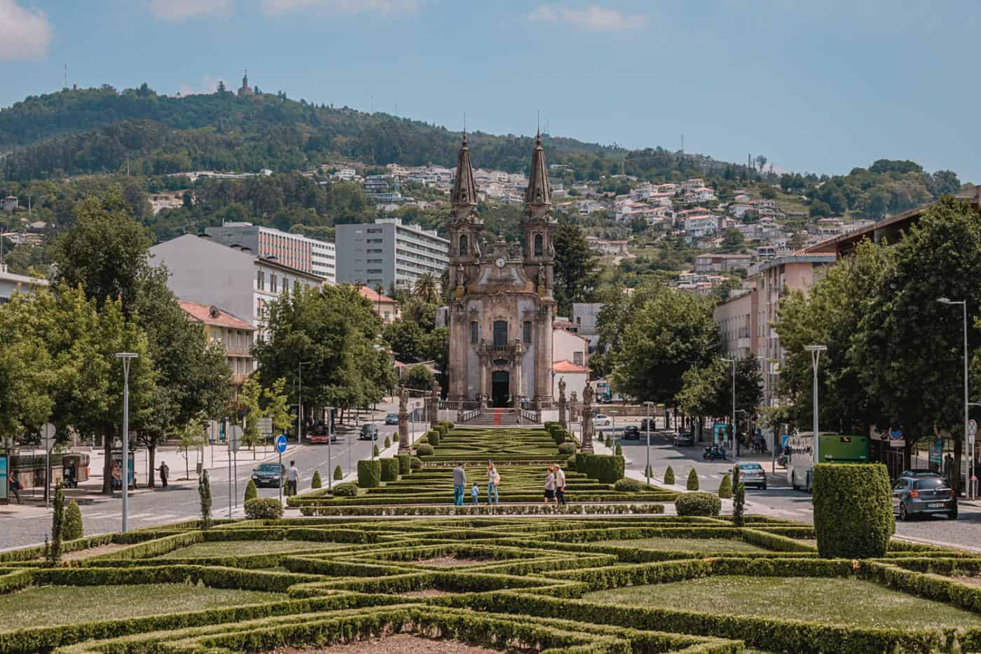 Igreja de Nossa Senhora da Consolacao e Santos Passos church in Guimaraes Portugal