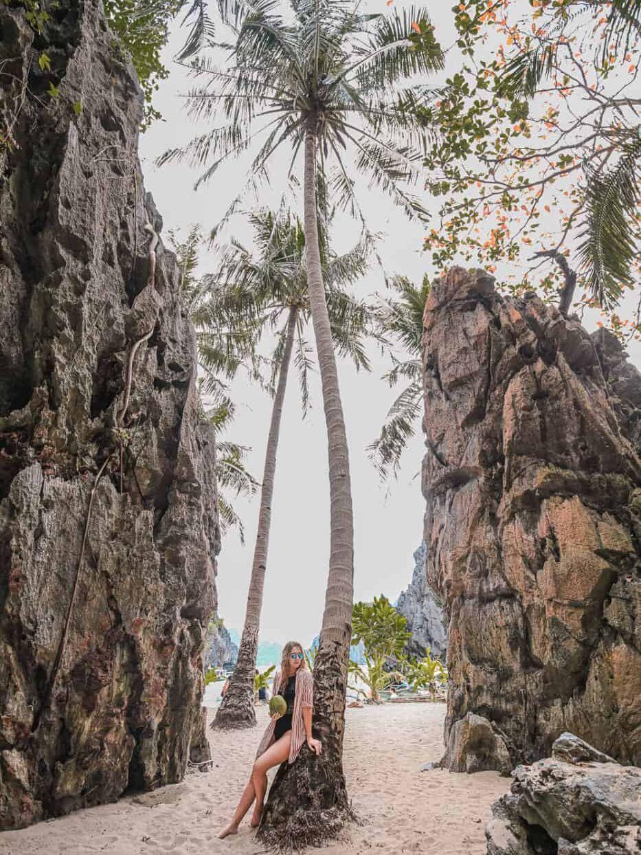 Palawan Philippines el nido beach