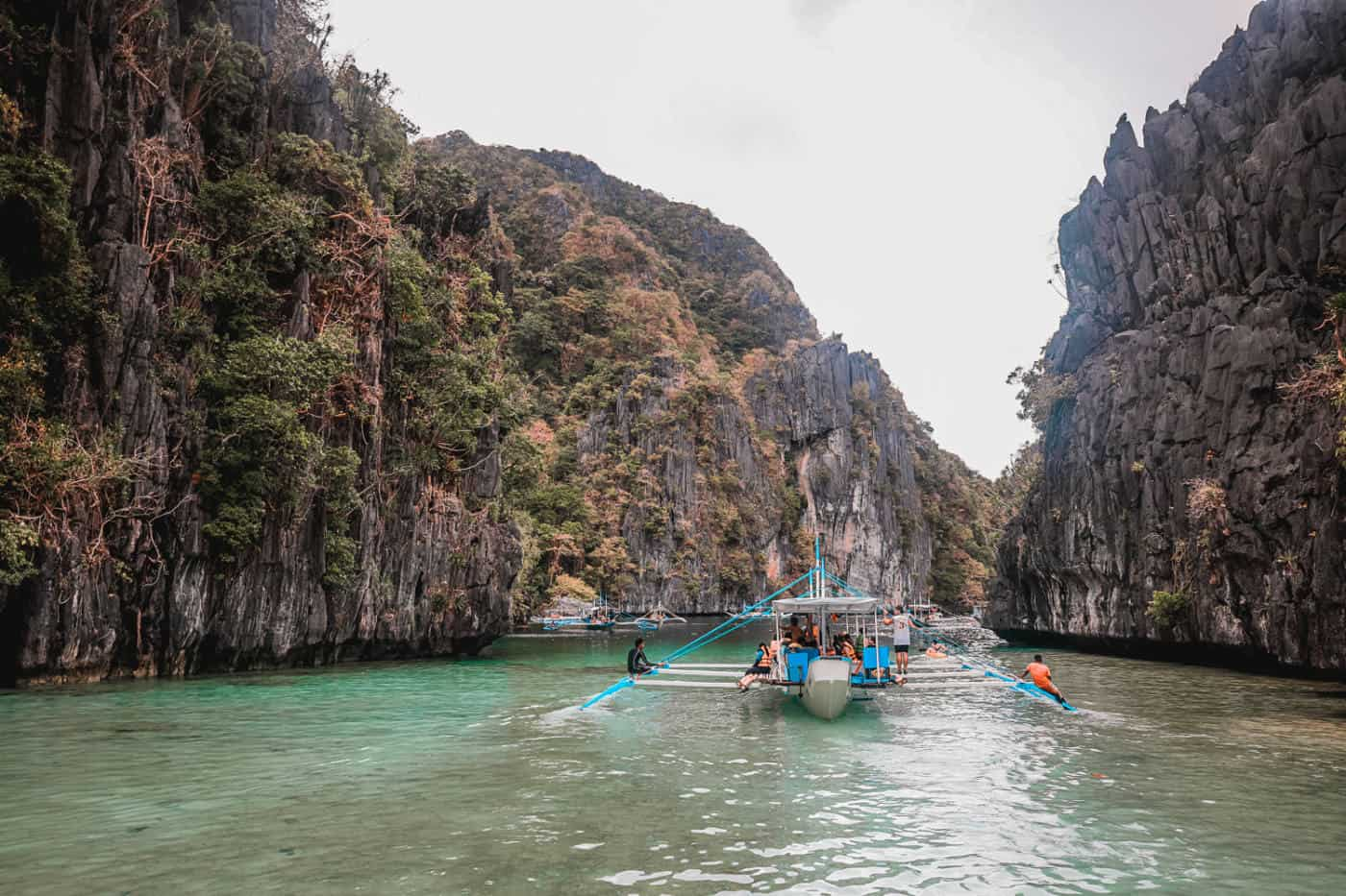 Palawan Philippines el nideo island hopping