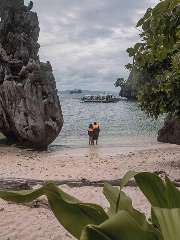 Philippines beach el nido tour