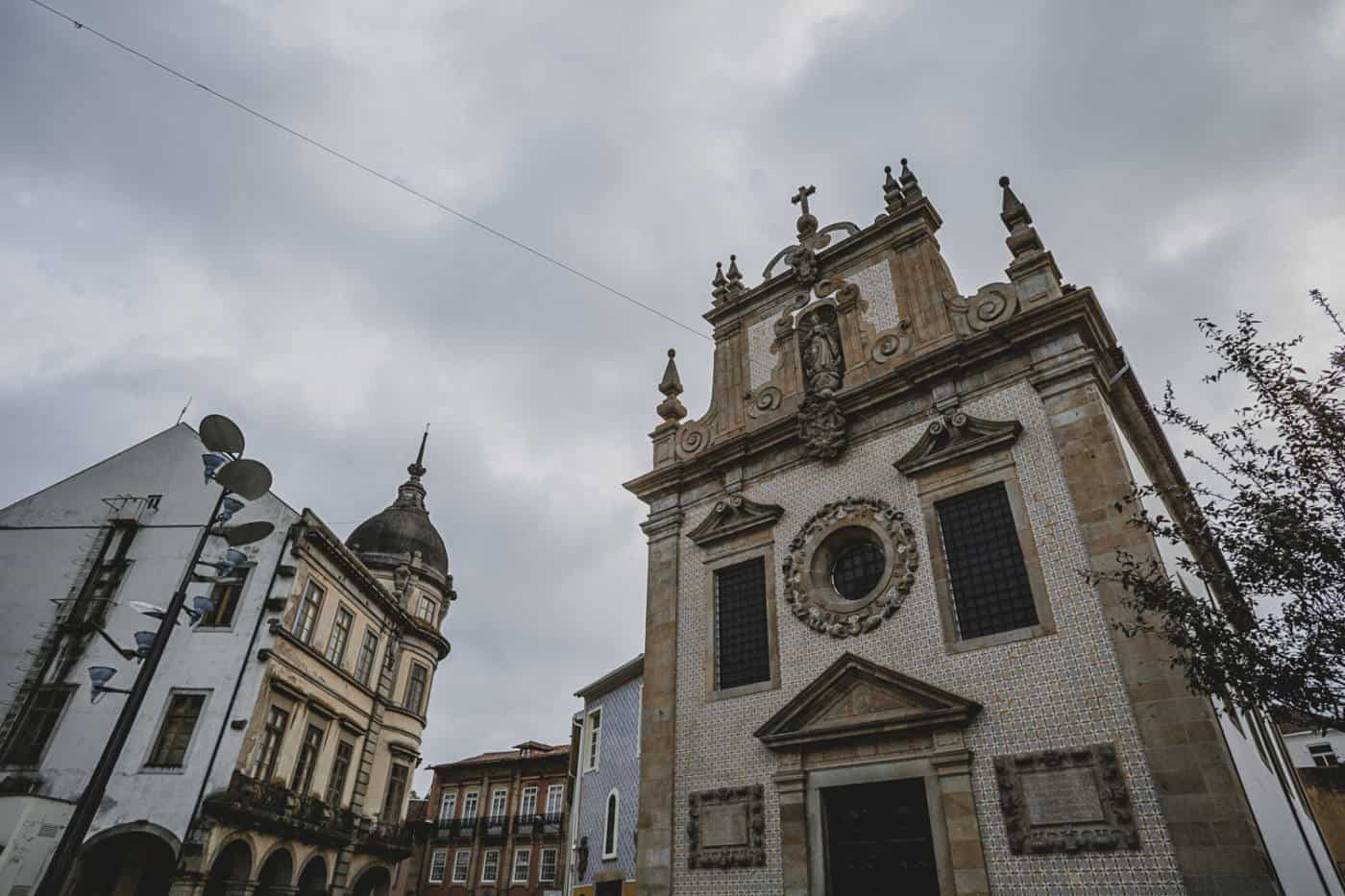 Portuguese church in Braga Portugal