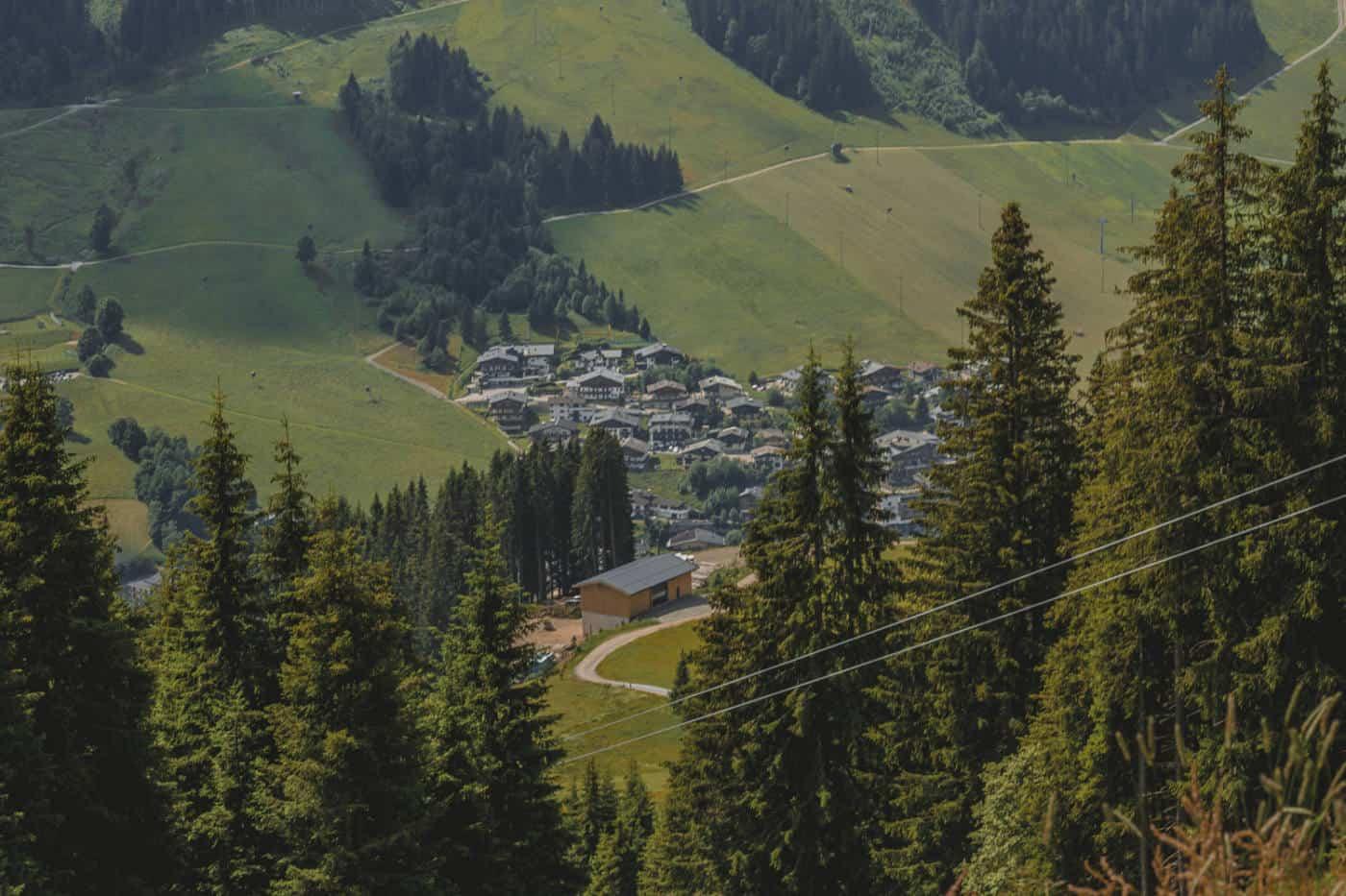 Saalbach-Hinterglemm in Austria