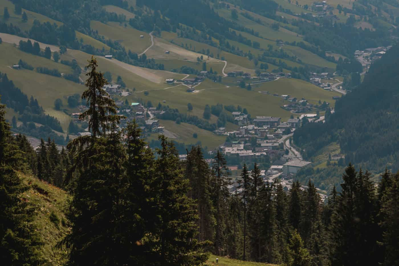 Summer in Saalbach Hinterglemm Austria
