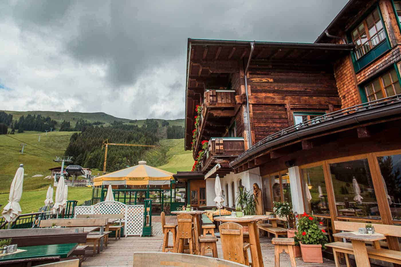 The Sonnhof Hotel in Saalbach Austria-2