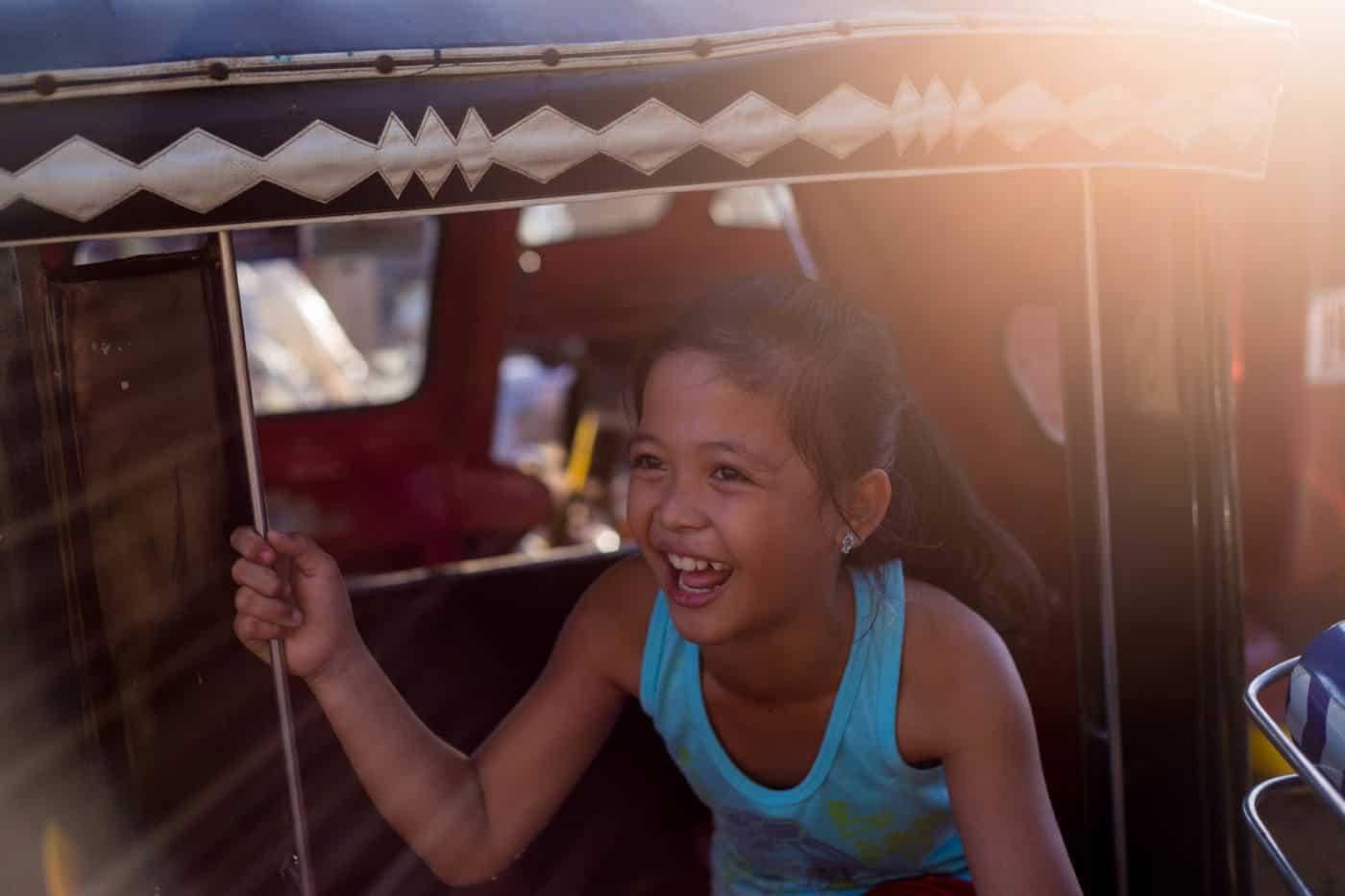 child in coron philippines - palawan trip
