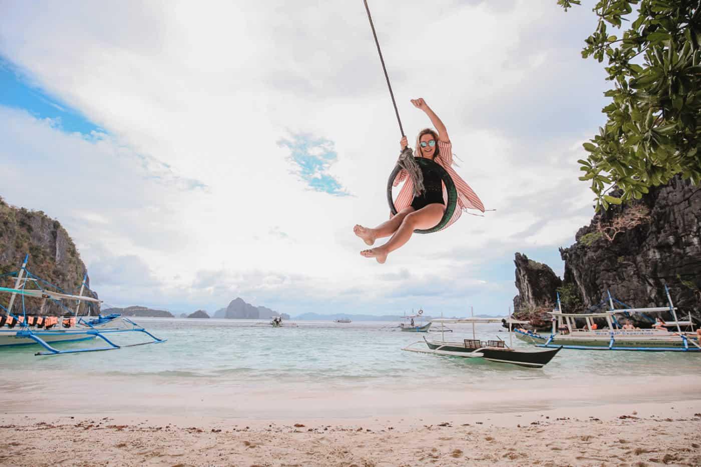 Philippines beach el nido tour palawan