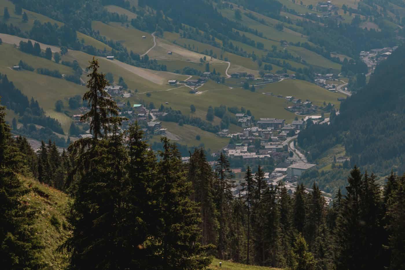 Summer in Saalbach Hinterglemm Austria