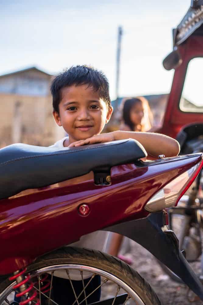 child in coron philippines