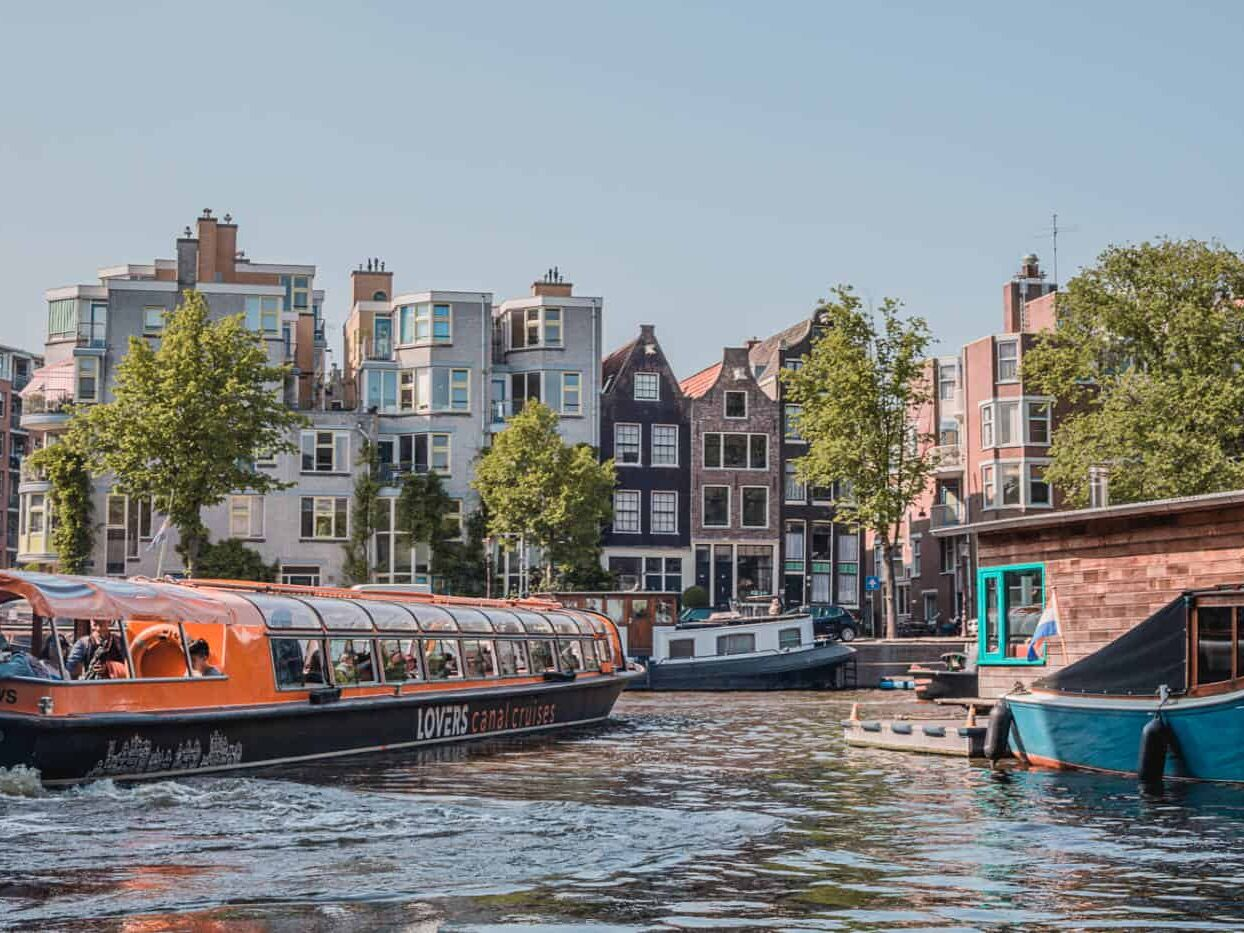 Canals in Amsterdam Netherlands-5