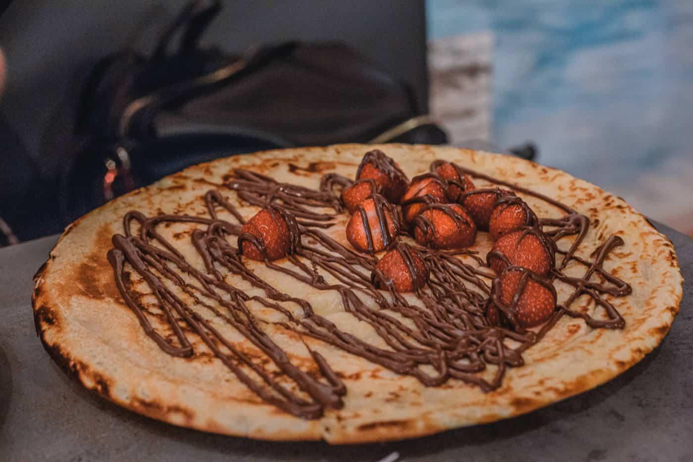 Pancakes in Amsterdam Netherlands