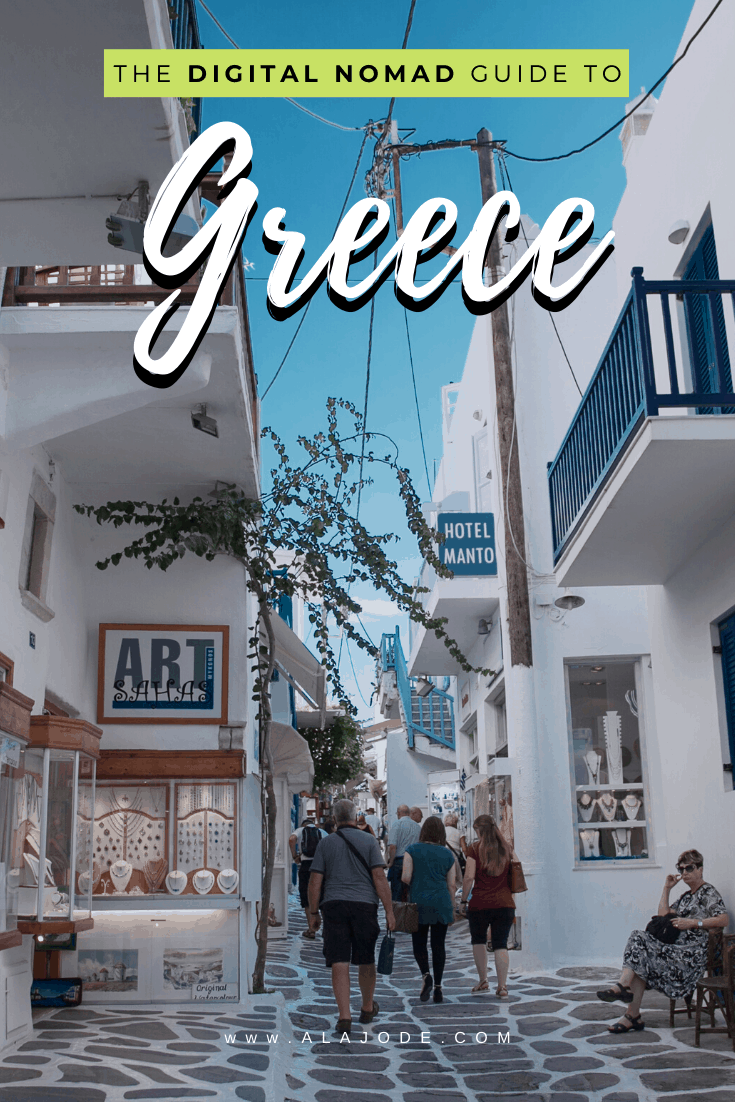 Digital nomad guide to Greece