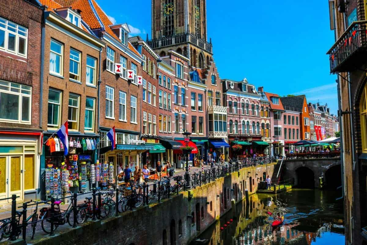 European Destination Utrecht Netherlands