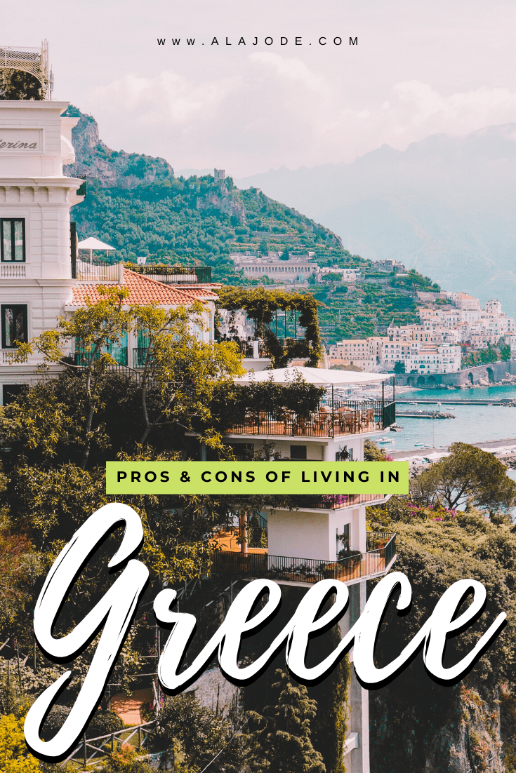 Pros and cons of living in Greece