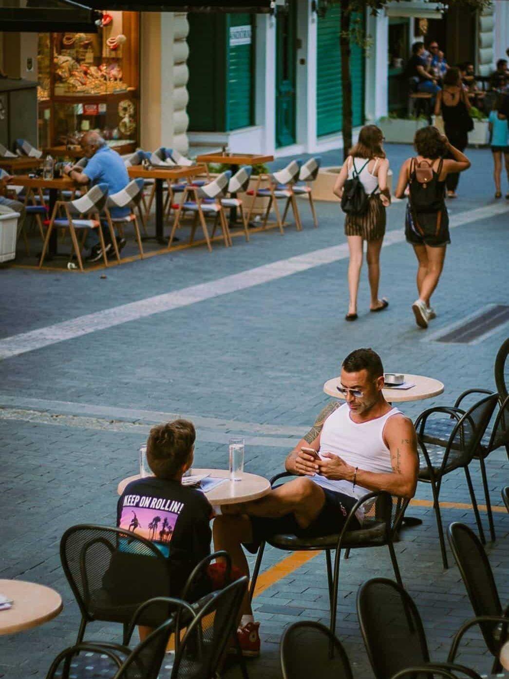 Streets of Heraklion Greece