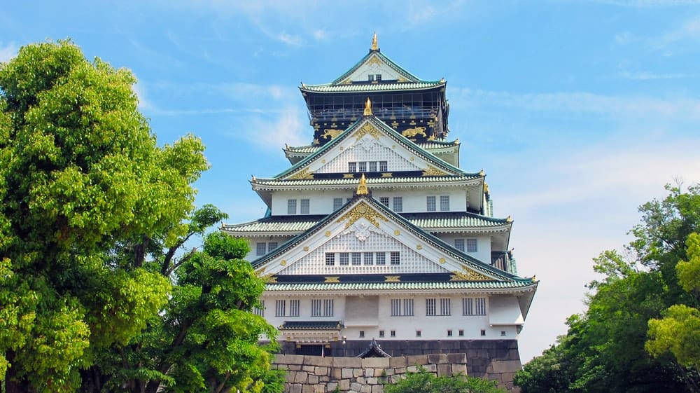Stay in the Osaka castle area